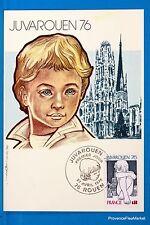 JUVA ROUEN  Carte Postale Maximum FDC Yt C 1876