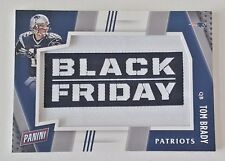 2016 PANINI BLACK FRIDAY TOM BRADY MANUFACTURED PATCH #1 PATRIOTS