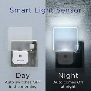LED Night Light Plug In Auto Sensor Energy Saving Children, Baby Safety Light.