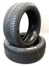 2x Winterreifen Pirelli Sottozero 3 Runflat 245/45R19 102V XL MOE 5,5mm DOT16 17