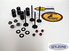 KibbleWhite Black Diamond Valves w/ Spring Kit & Seals Suzuki RM Z250 2007-2015