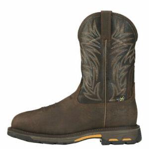 ARIAT Men's WorkHog Metguard Composite Toe Waterproof Work Boots 10016265 NIB Sz