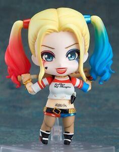 Authentic Nendoroid Suicide Squad Harley Quinn Suicide Edition 672 Action Figure