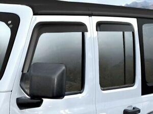 2018-2021 Jeep Gladiator & JL Wrangler Mopar Rain Guards 82215368AB