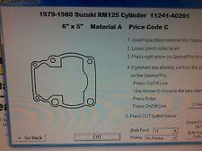 Suzuki RM125  Cylinder Base Gasket 1979 1980
