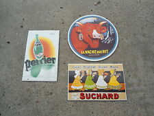 LOT 3 MAGNETS EMAIL PUBLICITAIRES ANCIENNES MARQUES SERIE D3