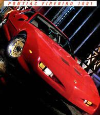 1991 PONTIAC FIREBIRD BROCHURE -FIREBIRD FORMULA-TRANS AM GTA-PONTIAC FIREBIRD