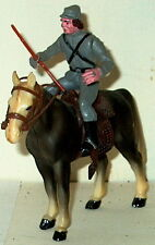 Civil War Confederate Cavalry W/Rifle 70Mm