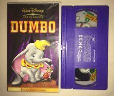 Dumbo (VHS, 2001, 60 Aniversario Edicion) (Espanol, Spanish) DISNEY LOS CLASICOS