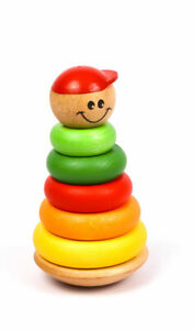 The Wobbly Kid with Rings Kids Childrens Creative Puzzles