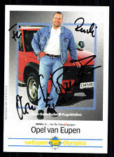 Oliver-Sven Buder Top AUTOGRAFO MAPPA ORIGINALE FIRMATO Leichathletik + a 75418