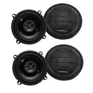 Hifonics Zeus 200 Watt 5.25 Inch 2 Way 4 Ohm Car Audio Coaxial Speakers (2 Pack)