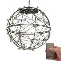 Grasslands Road Hanging Lighted Sphere Battery Remote Operated Garden Or Holiday