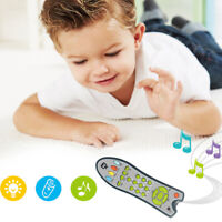 Music Mobile Phone TV Remote Control Kids Baby Early Educational Toy Utility