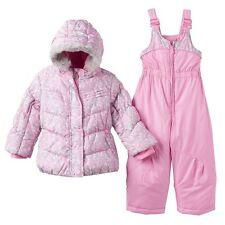 Toddler Girl ZeroXposur Puffer Winter Jacket Coat Bib Snow Pant Set Snowsuit 2T