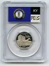 2001 S 25C Silver Kentucky Quarter PCGS PR70DCAM