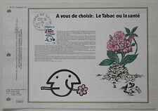 Document philatélique CEF 531 1er jour 1980 Tabac ou la Santé à vous de choisir