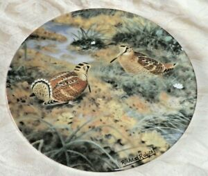 ROYAL DOULTON BRADEX COLLECTORS PLATE - 'THE WOODCOCK'