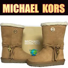 MICHAEL KORS TODDLER SIZE 7 PAMINA WINTER BOOTS TAN