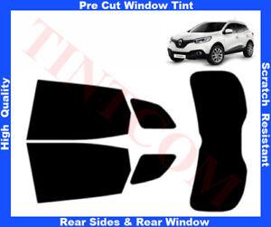 Renault Kadjar 5D 2015-... Pre-Cut Window Tint 5%-50% Rear Window & Rear Sides