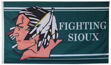 Fighting Sioux University North Dakota UND Hockey Football 3'X5' Flag US shipper