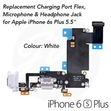 """White - iPhone 6s Plus 5.5"""" High Quality OEM Charging Port Charger Flex Cable"""