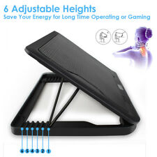 Cooling Pad for 12-17 inch Laptop | 5 Ultra Quiet Fans | Adjustable Angled Stand