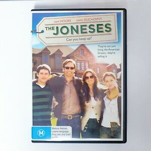 The Joneses Movie DVD Movie Region 4 Free Postage - Thriller