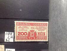 SELLOS DE BRASIL. NUEVOS CON FIJASELLOS . YVERT Nº 299