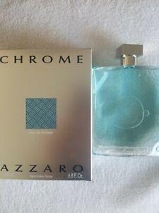 Chrome by Azzaro 6.8oz (200 ml) Eau De Toilette Spray For Men's (NEW)