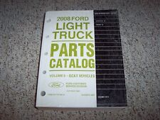 2008 Ford Ranger Parts Catalog Manual XL XLT Sport 2.3L 3.0L 4.0L V6 2WD 4WD