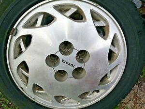 "1988 Toyota Supra 16"" RH Alloy Wheel Rim fits 7mgte Motor 3.0 Engine Turbo 3.0"