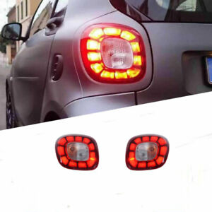 For Benz-Smart 2016-2019 LED taillight Brake Trunk Light Dynamic Turn Signal