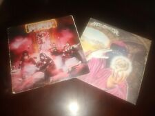 LOT OF 2 METAL LP RECORDS WASP & HELLOWEEN