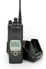 Motorola XTS5000 Model II 7/ 800 MHz P25 Radio w/ Battery Charger Fire Police