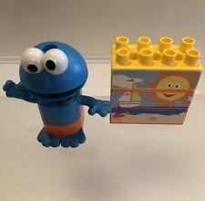 Cookie Monster Knex Building Block Set Sesame Street