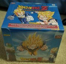 Dragon Ball Z Evolution Starter Deck Display Case 10 Sealed Decks 2015 Panini