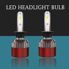 2X H1 LED Headlight Bulbs Conversion Kit 1300W 195000LM Low Beam 6500k Car