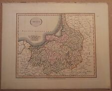 JOHN CARY MAP OF POLAND 1813 FROM HIS New Elementary Atlas