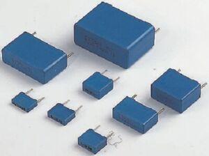 Epcos B32520 POLYESTER FILM CAPACITORS 10.3x6x12mm 1100Pcs 2.2µF 40VAC, 63VDC