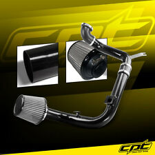 00-04 Ford Focus 2.0L 4cyl DOHC Black Cold Air Intake + Stainless Steel Filter