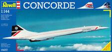 Concorde Aircraft Plastic Kit 1:144 Model 04257 REVELL