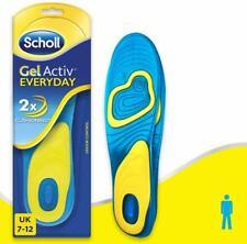 Scholl Men's Active Gel Insoles Everyday Sole Inner Work Shoe UK Size 7 - 12