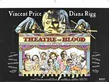 Theatre Of Blood Poster 02 A3 Box Canvas Print