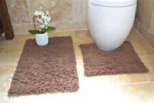 Tappeto da bagno marrone 100% Cotone