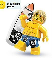 Lego 8684 Collectible Minifigure Series 2: No 15 - Surfer - SEALED