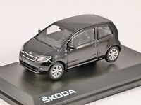 SKODA CITIGO 3dr in Black 1/43 scale model ABREX