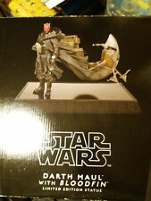 Star Wars Darth Maul & Bloodfin Statue Gentle Giant new,never displ nr 1154/2250