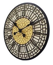 Big Ben Indoor Outdoor Garden Wall Clock Fully Weather Resistant 30 Centimetre