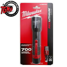 Milwaukee L4MLED-201 4V 700Lumens USB LED Rechargeable Flashlight Torch Kit